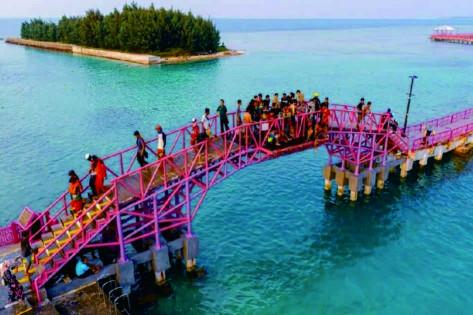 kepulauan untung pulau seribu