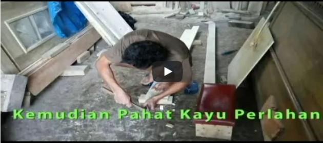 teknik memahat kayu terbaik