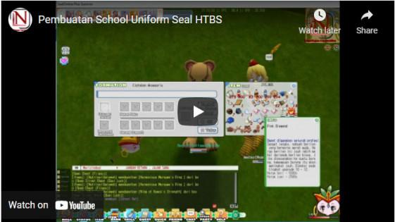Pembuatan School Uniform HTBS