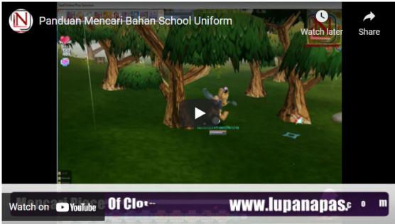 panduan mencari bahan school uniform