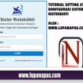 Install Applikasi SISTER DIKTI